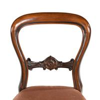 Attractive Set of Eight Late 19th Century Balloon Backed Chairs (4 of 4)