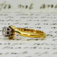 The Vintage 1968 Illusion Solitaire Diamond Ring (4 of 6)