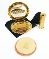 Vintage Vanity Set 1950s Stratton Brand Compact (3 of 8)