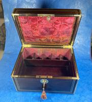 Georgian  Rosewood Brassbound Vanity Box (31 of 34)