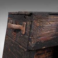 Antique Industrial Machinist's Truck, English, Trolley, Kitchen, Wine, Victorian (9 of 12)