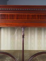 Antique Sheraton Style Inlaid Mahogany Display Cabinet (5 of 18)