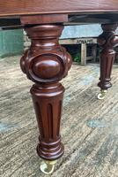 Super Quality Victorian Mahogany Extending Dining Table Seats 14 (13 of 18)