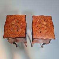 French Kingwood Bedside Tables c.1930 (6 of 6)