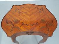 Pair of Kingwood Side Tables c.1930 (5 of 9)