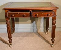 William IV Mahogany Small Writing Table (4 of 6)