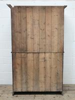Late 19th Century Welsh Oak Two Stage Cupboard with Glazed Top (10 of 10)