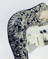 Large Victorian Silver Dressing Table Mirror (11 of 16)