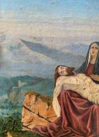 Pair of 19th Century Religious Old Master Oil Paintings - Set of 14 Available (32 of 32)