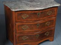 Pair of Antique French Walnut Commodes (5 of 17)