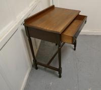 Good 19th Century Oak Writing Table (3 of 4)