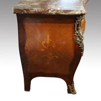 Continental Marquetry Bombe Commode Chest (12 of 14)