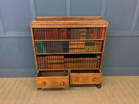 Oak Open Bookcase c.1920 (6 of 12)