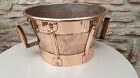 French 18th Century Copper Ferrat (2 of 6)