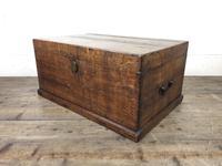 19th Century Oak Box Belonging to Henry Hanmer MP (11 of 16)
