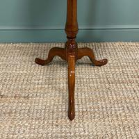 George III Mahogany Antique Occasional Table / Lamp Table (2 of 6)