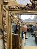 Large 19th Century French Gilt Mirror (6 of 8)