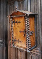 Antique Rustic Swiss Log Cabin Hanging Cupboard (2 of 7)