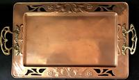 WMF Copper and Brass Butlers Tray