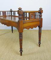 Good Aesthetic Mahogany Window Seat by Henry Pitts of Leeds (10 of 12)