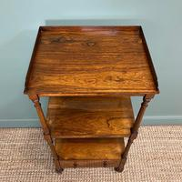 Spectacular Regency Gillows Rosewood Antique Whatnot (7 of 7)