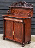 Superb Regency Mahogany Cabinet / Cupboard / Chiffonier c.1820 (8 of 8)