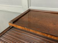 Georgian Mahogany Double Sided Tambour Roll Top Desk (5 of 26)