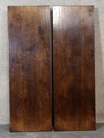 Large Reproduction Circular Oak Dining Table With Two Leaves / Seats 8 Persons (5 of 8)