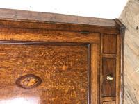 Georgian Oak Corner Cupboard with Inlay (4 of 10)