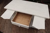Fabulous! Old Pine / White Painted Desk / Dressing Table - We deliver! (8 of 11)