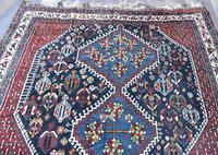 Old Khamseh tribal carpet 260x186cm (3 of 7)