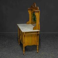 Victorian Oak Washstand (10 of 11)