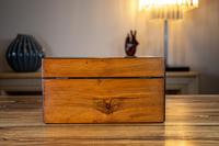Figured Walnut Table Box c.1880 (8 of 9)
