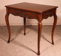 Small Louis XV Table In Oak -18 ° Century (8 of 10)