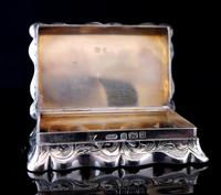 Antique silver snuff box, Deakin and Francis (7 of 12)