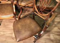 Quality Set of Eight Mahogany Dining Chairs (15 of 18)