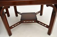 Pair of Georgian Style Mahogany Side Tables c.1950 (6 of 7)