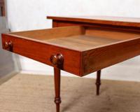 Edwardian Mahogany Writing Desk Table (9 of 12)