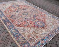 Old Heriz Carpet 335x214cm (7 of 9)