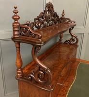 19th Century Plum Pudding Mahogany Bonheur Du Jour (15 of 19)