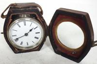 Extremely Rare Miniature Carriage Clock Round Silver Case with Original Case & Platform (10 of 11)