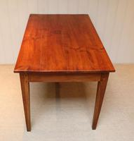Small Proportioned French Provincial Cherry Wood Table (2 of 10)