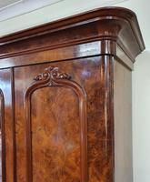 Victorian Scottish Burr Walnut Wardrobe (4 of 7)