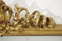 19th Century English Gilt Large  Overmantle Mirror (4 of 12)