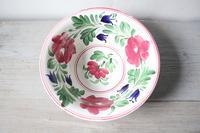 Late 19th Century Scottish Spongeware Pottery Bowl Persian Rose Pattern (20 of 23)