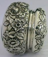 Superb Large American Sterling Silver Pot Box Tea Caddy S Kirk c.1900 (4 of 10)