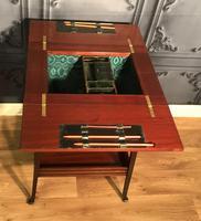 Edwardian Inlaid Mahogany Sewing Box (6 of 11)