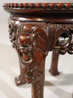 Good Pair of Late 19th Century Oriental Teak Stands (7 of 7)