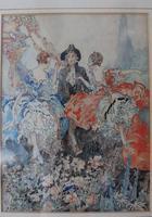 Vintage Original Watercolour - poss. Book Illustration - Yvonne Hind (5 of 8)