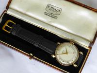 Gents 9ct Gold Rotary Wrist Watch, 1946 (3 of 6)